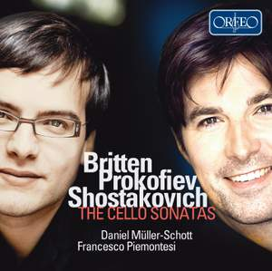 Britten, Prokofiev, Shostakovich: The Cello Sonata