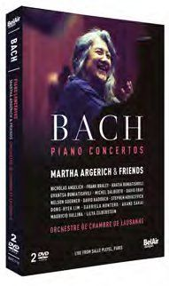 JS Bach Piano Concertos: Martha Argerich and friends