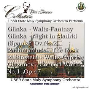 Glinka: Waltz, Night in Madrid & Rachmaninoff: The Rock etc.