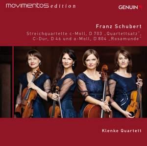 Schubert: String Quartets, D. 703, 46 & 804