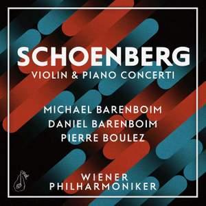 Schoenberg: Violin & Piano Concertos Product Image