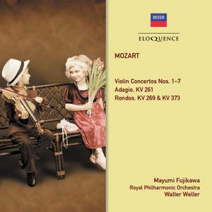 Mozart: Violin Concertos Nos. 1-7