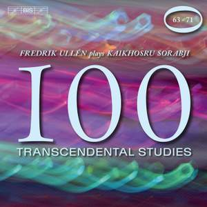 Sorabji - 100 Transcendental Studies, Volume 4