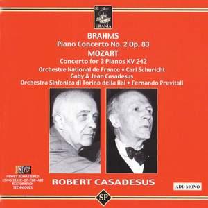 Brahms: Piano Concerto No. 2 & Mozart: Concerto for Three Pianos