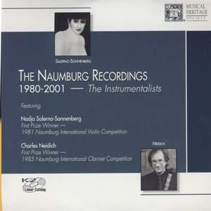 The Naumburg Recordings, 1980-2001: The Instrumentalists