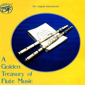 A Golden Treasury of Flute Music (on original instruments) Product Image