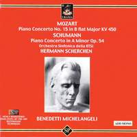 Mozart: Piano Concerto No. 15 & Schumann: Piano Concerto Op. 54