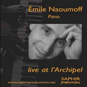 Emile Naoumoff Live at l'Archipel
