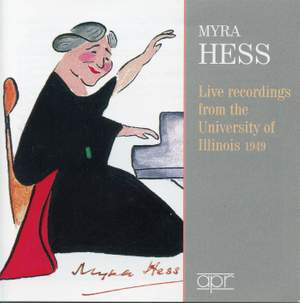 Myra Hess: Live at the University of Illinois