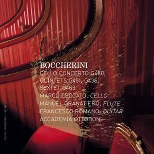 Boccherini: Cello Concerto, Quintettes & Sextet