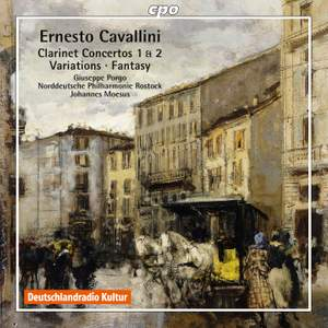 Cavallini: Works for Clarinet & Orchestra