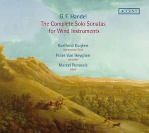 Handel Complete sonatas for wind instruments