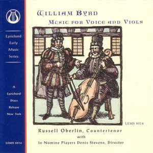 Byrd: Music for Voice and Viols