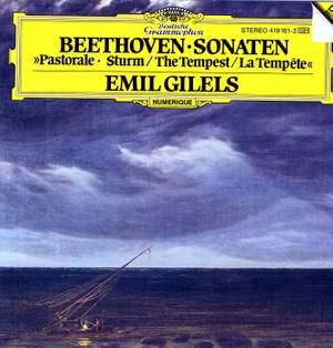 Beethoven: Piano Sonatas Nos. 15 & 17