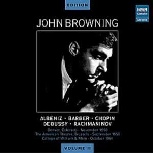 John Browning Edition, Vol. II - Various Composers