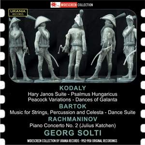 Georg Solti conducts Kodaly, Bartok & Rachmaninov