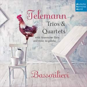 Telemann: Trios & Quartets with Transverse Flute & Viola da Gamba Product Image
