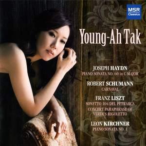Young-Ah Tak plays Haydn, Schumann, Liszt & Kirchner Product Image