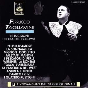 Ferruccio Tagliavini - Cetra Recordings 1940-1948