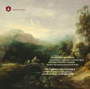 Geminiani: Sonatas for cello Op. 5