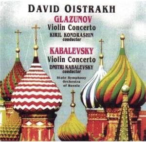 Glazunov & Kabalevsky: Violin Concertos