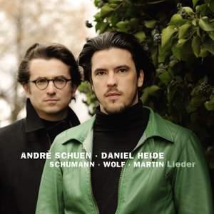 Schumann, Wolf & Martin: Lieder