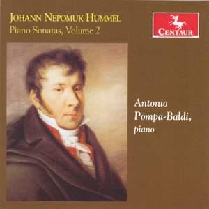 Hummel: Piano Sonatas, Vol. 2 Product Image