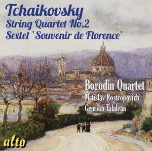 Tchaikovsky: String Quartet No. 2 & Souvenir de Florence (sextet)