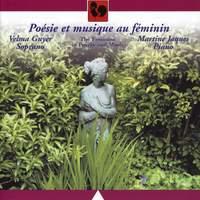 Poésie et musique au féminin (Poetry and Music of Women)