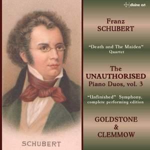 Schubert: The Unauthorised Piano Duos Volume 3