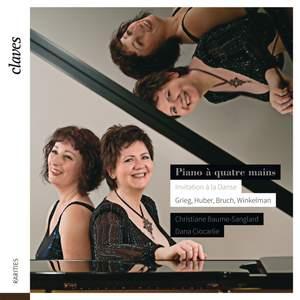 Invitation a la Danse - Piano Four Hands Product Image