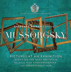 Grzegorz Nowak conducts Mussorgsky