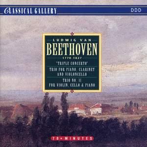 Beethoven: Triple Concerto, Gassenhauer Trio, Kakadu Variations