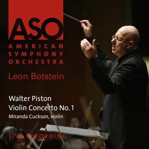 Piston: Violin Concertos No. 1