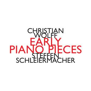 Christian Wolff: Early Piano Pieces Product Image