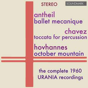 Antheil, Chavez, Hovhaness & LoPresti: Music For Percussion