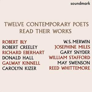 Twelve Contemporary Poets - Bly, Creeley, Eberhart, Hall, Kinnell, Kizer, Merwin, Miles, Snyder, Stafford, Swenson and Whittemore Read Their Works Product Image