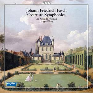Fasch: Overture Symphonies Product Image