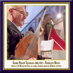 Telemann: Trio TWV 42:G6 in G major for viola da gamba, harpsichord & b.c. Product Image