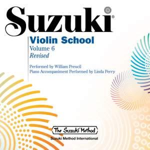 Suzuki Violin School, Vol. 6 (Revised) Product Image