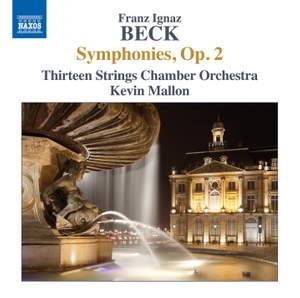 Beck, F I: Symphonies, Op. 2 Product Image
