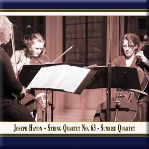 Haydn: String Quartet, Op. 76 No. 4 in B flat major 'Sunrise' Product Image