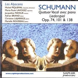Schumann: Songs - Opp. 74, 101, & 138