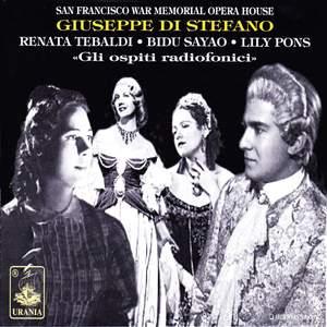 Giuseppe Di Stefano: Gli Ospiti Radiofonici