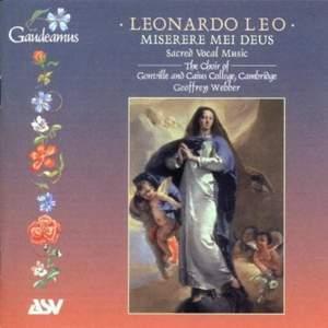 Leonardo Leo: Miserere mei Deus