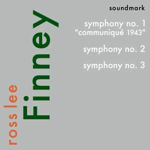 Ross Lee Finney: Symphony Nos. 1-3