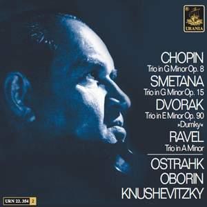 Chopin, Smetana, Ravel, Dvorak: Piano Trios