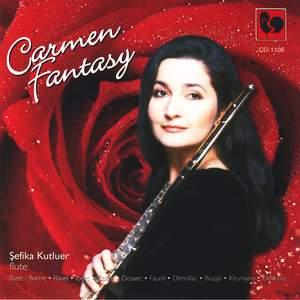 Georges Bizet, M. Ravel, C. Debussy, Gabriel Fauré, J. Ibert: Carmen Fantasy for Flute & Piano