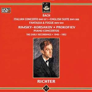 Bach: Italian Concerto - English Suite - Fantasia & Fugue