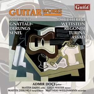 Admir Doçi plays Guitar Works